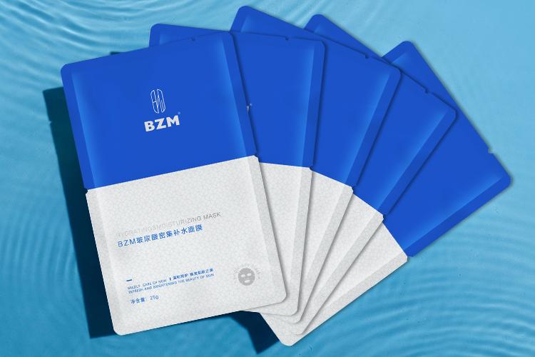 BZM玻尿酸密集补水面膜 水润温和不刺激