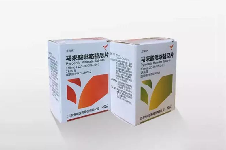 国家医保更新,恒瑞重磅产品艾瑞妮(马来酸吡咯替尼)、艾多(硫培非格司亭)强势纳入