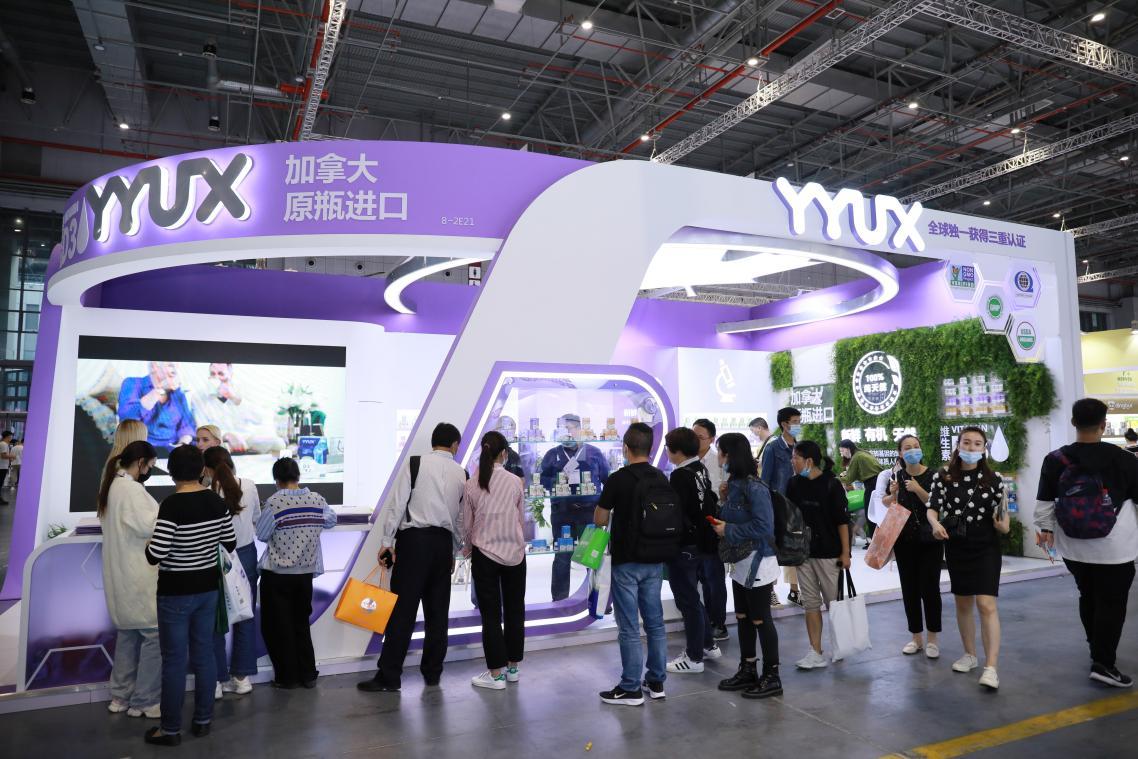 一战成名!加拿大本土品牌YYUX首战上海CBME孕婴童展告捷!