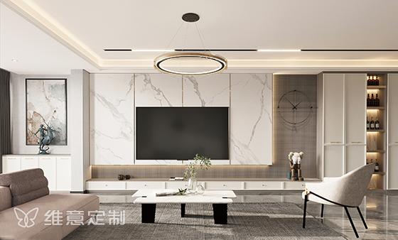 维意定制美家背景墙新款上市,背景也可以很艺术!